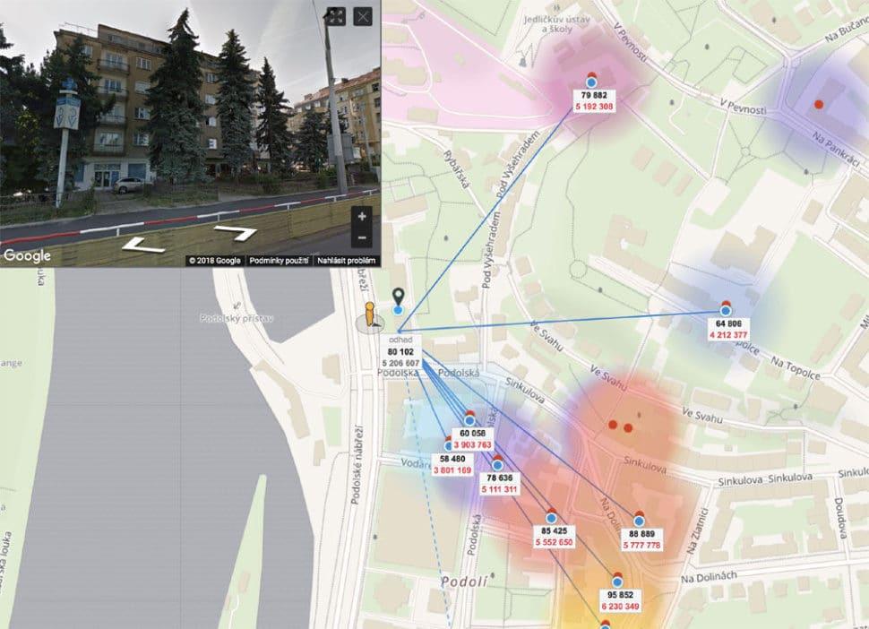Odhad bytu online Podolské nábřeží