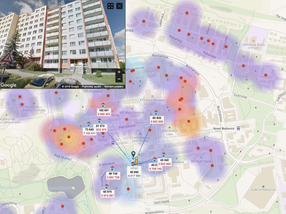 Odhad nemovitosti Suchý vršek Praha Stodůlky