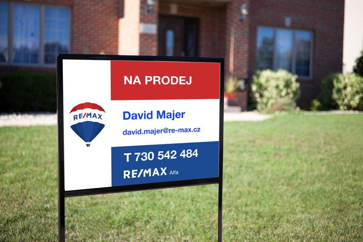 Cedule nemovitost na prodej